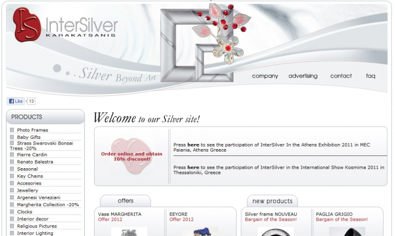 loud web communications intersilver